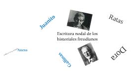 Escritura nodal de los historiales freudianos