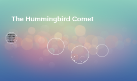 The Hummingbird Comet