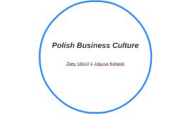 Polish Business Culture