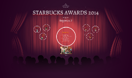 STARBUCKS AWARDS 2014