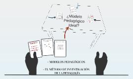 5. MODELOS PEDAGÓGICOS