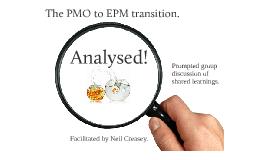PMO to EPM