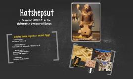 Kneeling Hatshepsut