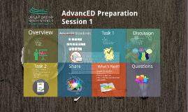AdvancED Preparation S1