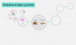 Metabolismo de lípidos y proteínas
