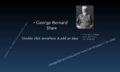 Copy of George Bernard Shaw biography
