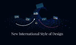 New International Style of Design