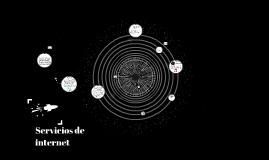 Copy of Servicios de internet