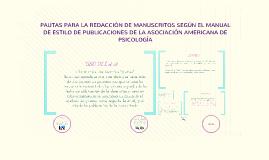 Copy of NORMAS  (APA )