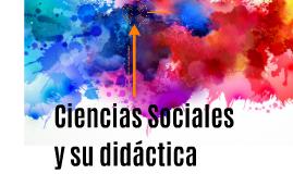 Ciencias Sociales y su didáctica