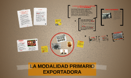 Copy of LA MODALIDAD PRIMARIO EXPORTADORA