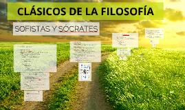 CLÁSICOS DE LA FILOSÓFÍA