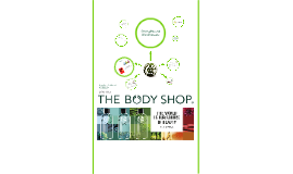 About The Body Shop: