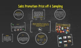 Sales Promotion: Price off & Sampling