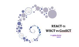 REACT-2 RTC 2016