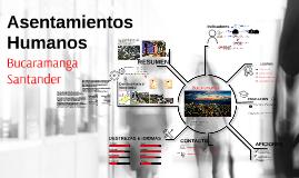 Asentamientos humanos en bucaramanga