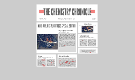 THE CHEMISTRY CHRONICLE