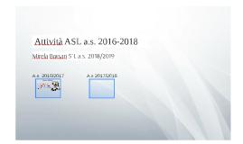 Attività ASL a.s. 2016-2018