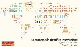 La cooperación científica internacional