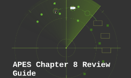 APES Chapter 8 Review Guide