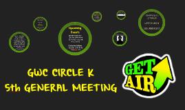 GWC CKI 5th General Meeting