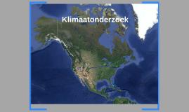 Klimaatonderzoek