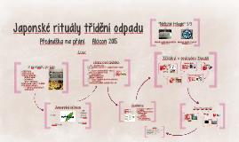 Japonské rituály třídění odpadu