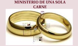Copy of Copy of MINISTERIO DE UNA SOLA CARNE