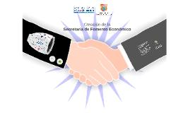 FORO Creación Secretaria Fomento