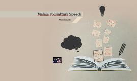 Copy of Malala Yousafzai's Speech
