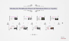 Introducción: Periodización