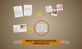 NIÑOS VISUALES-VISUALES-CINÉSTESICOS