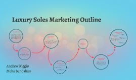 Luxury Soles Marketing Outline