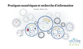 PDF - Enquête sur les pratiques numériques et la recherche d'information