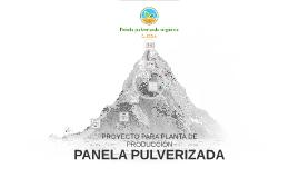 Planta de Fabricación para panela Pulverizada
