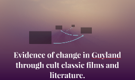Evidence of change in Guyland through cult classic films and