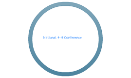 National 4-H Conference Experience