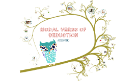 Copy of MODALS OF DEDUCTION - IN PICTURES