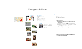 Emergenza Pakistan