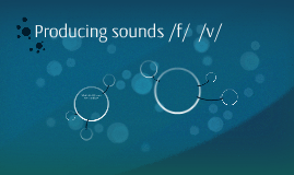 How to produce sounds
