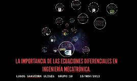 Copy of LA IMPORTANCIA DE LAS ECUACIONES DIFERENCIALES EN LA CARR DE