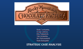 Copy of Rocky Mountain Chocolate Factory - Case Analysis