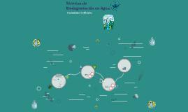 4.4 Técnicas de Biodegradación en agua: