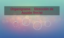 Organigrama Dirección de Acción Social