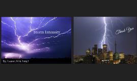 Storm Intensity