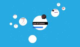 Copy of Law of Cosines