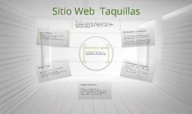 Sitio web taquillas