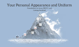 Copy of Your Personal Appearance and Uniform