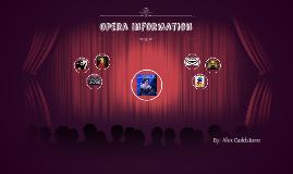 Opera Information