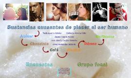 Sustancias causantes de placer al ser humano